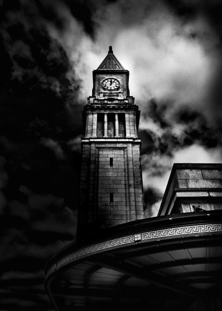 Clock Tower No 10 Scrivener Square Toronto Canada