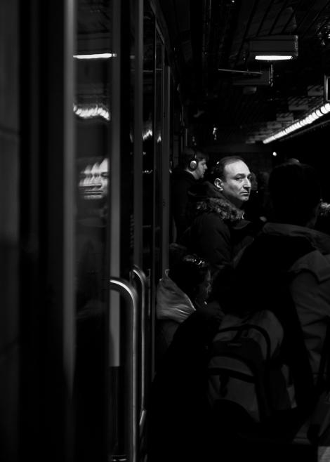 Toronto Subway Reflection