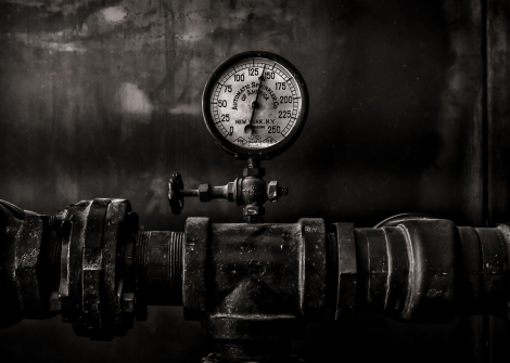 Toronto Distillery District Machinery No 1 by The Learning Curve Photography